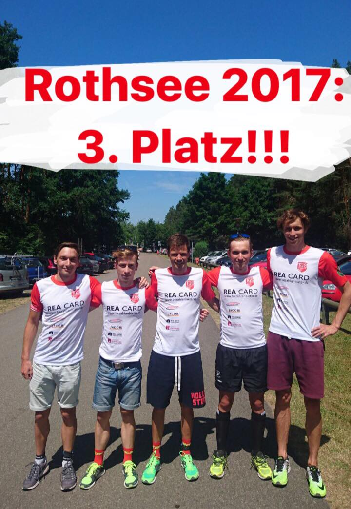 Podium auch am Rothsee