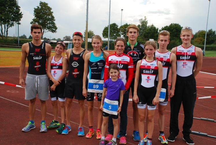 TuS-Triathlon-Jugend sehr erfolgreich bei der Duathlon-Hessenmeisterschaft