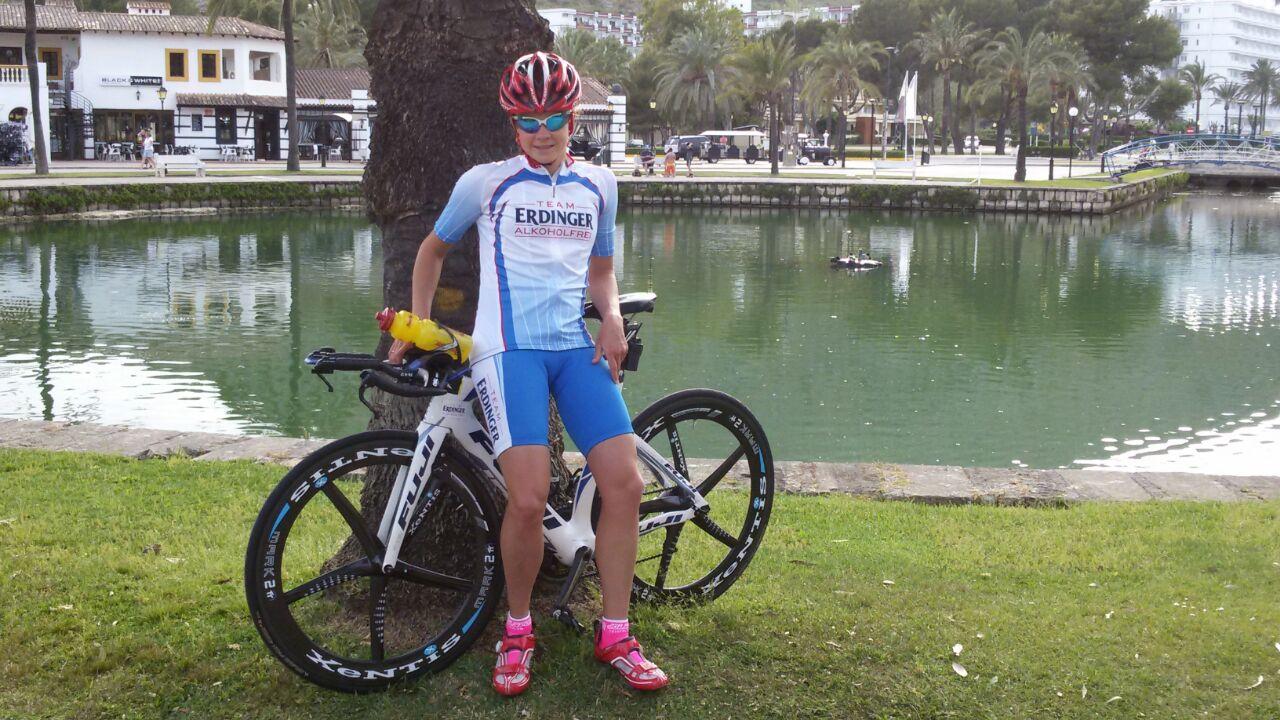 Natascha Schmitt 10. beim 70.3 Mallorca